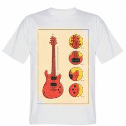 Чоловіча футболка Гітара