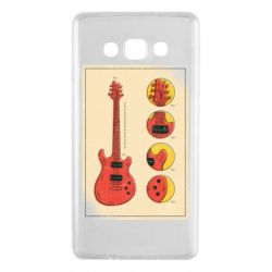 Чохол для Samsung A7 2015 Гітара