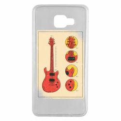 Чохол для Samsung A7 2016 Гітара