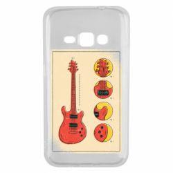 Чохол для Samsung J1 2016 Гітара