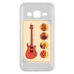 Чохол для Samsung J2 2015 Гітара
