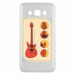 Чохол для Samsung J5 2016 Гітара