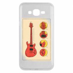 Чохол для Samsung J7 2015 Гітара