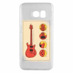 Чохол для Samsung S6 EDGE Гітара