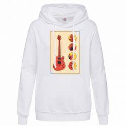 Толстовка жіноча Гітара