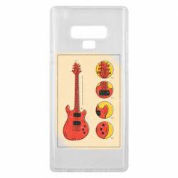 Чохол для Samsung Note 9 Гітара