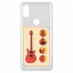 Чохол для Xiaomi Mi Mix 3 Гітара