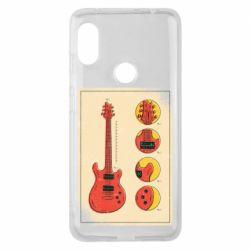 Чохол для Xiaomi Redmi Note Pro 6 Гітара