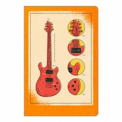 Блокнот А5 Гітара