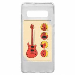 Чохол для Samsung S10+ Гітара