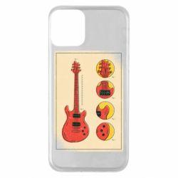 Чохол для iPhone 11 Гітара