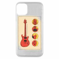 Чохол для iPhone 11 Pro Гітара