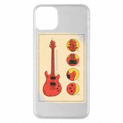 Чохол для iPhone 11 Pro Max Гітара