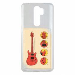 Чохол для Xiaomi Redmi Note 8 Pro Гітара