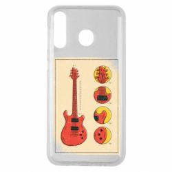 Чохол для Samsung M30 Гітара