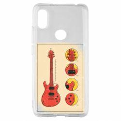 Чохол для Xiaomi Redmi S2 Гітара