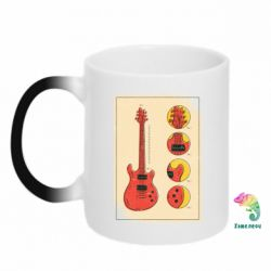 Кружка-хамелеон Гітара