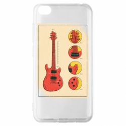Чохол для Xiaomi Redmi Go Гітара