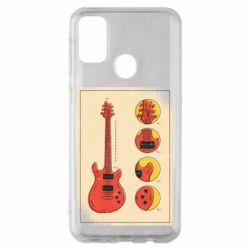 Чохол для Samsung M30s Гітара