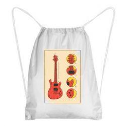 Рюкзак-мішок Гітара