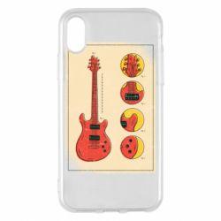 Чохол для iPhone X/Xs Гітара