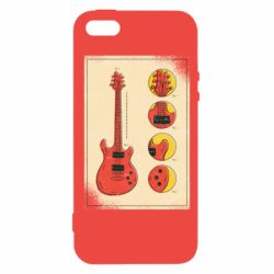 Чохол для iphone 5/5S/SE Гітара