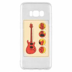 Чохол для Samsung S8 Гітара