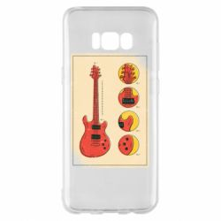 Чохол для Samsung S8+ Гітара