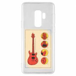 Чохол для Samsung S9+ Гітара