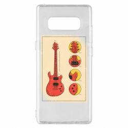 Чохол для Samsung Note 8 Гітара