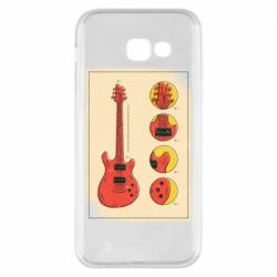 Чохол для Samsung A5 2017 Гітара