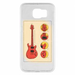 Чохол для Samsung S6 Гітара