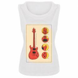 Майка жіноча Гітара