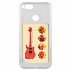 Чохол для Xiaomi Mi A1 Гітара