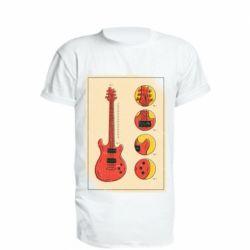 Подовжена футболка Гітара