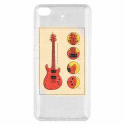Чохол для Xiaomi Mi 5s Гітара