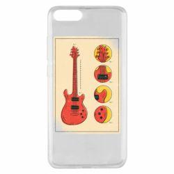 Чохол для Xiaomi Mi Note 3 Гітара