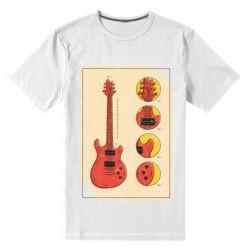 Чоловіча стрейчева футболка Гітара