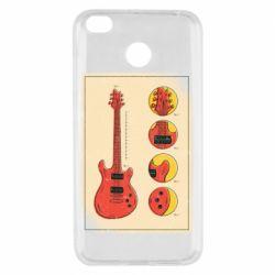 Чохол для Xiaomi Redmi 4x Гітара