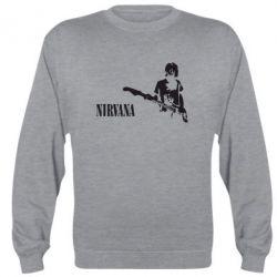 Реглан (свитшот) Гитарист Nirvana - FatLine