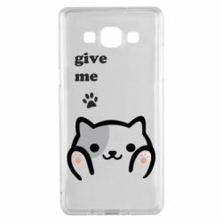 Чохол для Samsung A5 2015 Give me cat