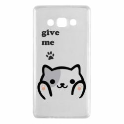 Чохол для Samsung A7 2015 Give me cat