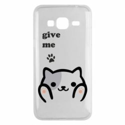 Чохол для Samsung J3 2016 Give me cat