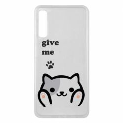 Чохол для Samsung A7 2018 Give me cat