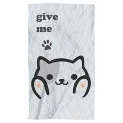 Рушник Give me cat