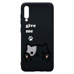 Чохол для Samsung A70 Give me cat