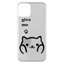 Чохол для iPhone 11 Give me cat