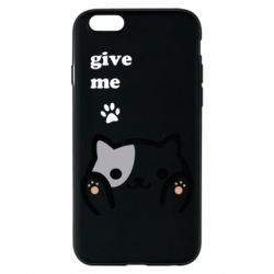 Чохол для iPhone 6/6S Give me cat