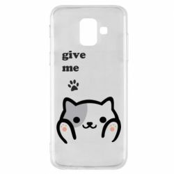 Чохол для Samsung A6 2018 Give me cat