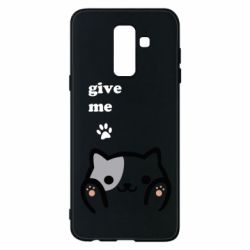 Чохол для Samsung A6+ 2018 Give me cat